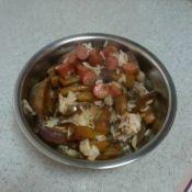 酱茄子香肠焖饭的做法