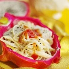 金针菇酿火龙果