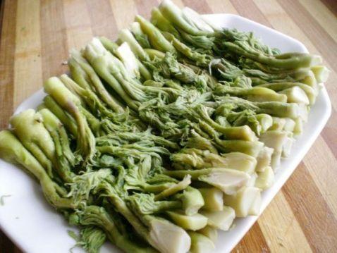 红油山野菜刺嫩芽的做法