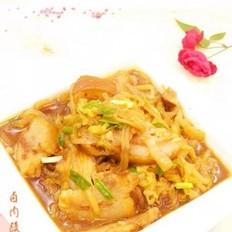 卤肉酸菜粉条