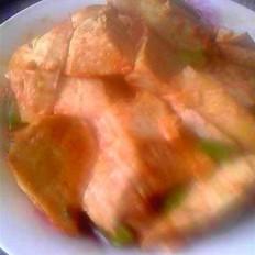 番茄酱烧豆腐