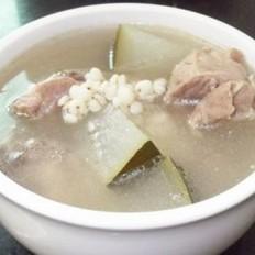 冬瓜薏米煲猪骨的做法