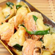葱姜龙虾的做法