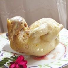 高汤白斩鸡