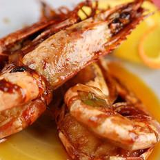 虾油焖大虾的做法