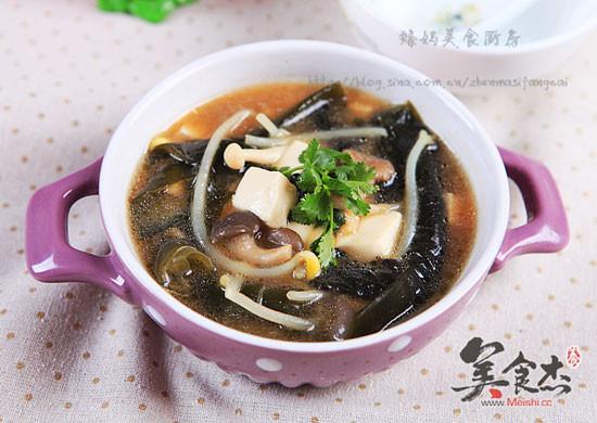 海带豆腐味噌汤