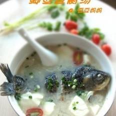 冬季養胃鯽魚豆腐湯的做法
