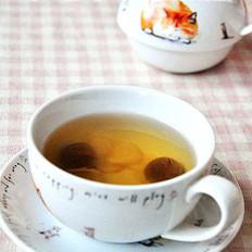 桂圆洋参茶的做法