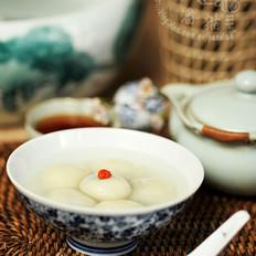 豆腐黑芝麻汤圆的做法