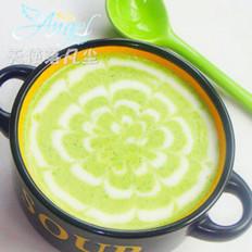 西兰花奶油浓汤的做法