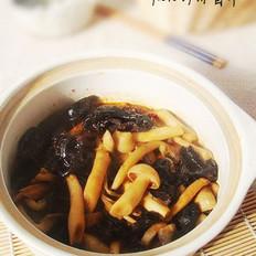 四喜菌菇煲的做法