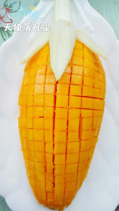 橙汁玉米木瓜的做法