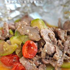 香烤時蔬里脊肉的做法