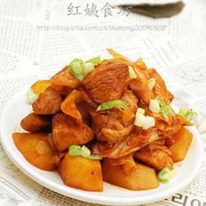 泡菜鸡的做法