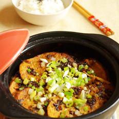 雪菜素鸡煲的做法