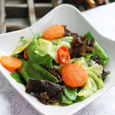 鲜炒杂蔬的做法