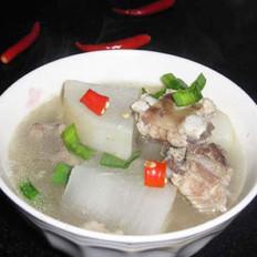 清燉排骨蘿卜湯的做法