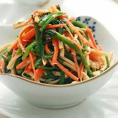 凉拌辣味水芹菜