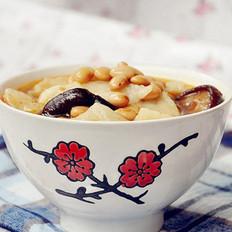 猪蹄黄豆面疙瘩汤的做法