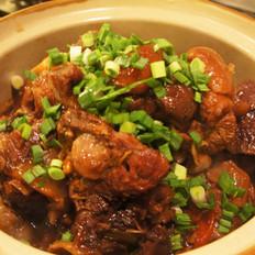 红烧羊肉煲的做法