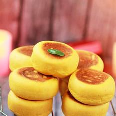 南瓜红豆沙面饼