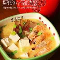 浓汤老豆腐的做法