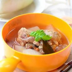 萝卜骨头汤的做法