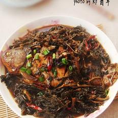 野菜干炖鲫鱼的做法