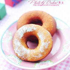 软糯甜甜圈的做法