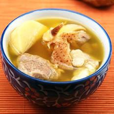 淮山螺肉汤的做法
