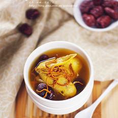 虫草花红枣鸡汤