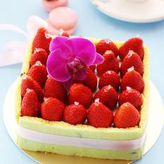 酸奶油草莓乳酪蛋糕的做法