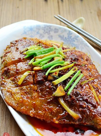 酱烧大做法的鲳鱼红烧鹅肉堡图片