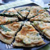 金针菇豆腐饼