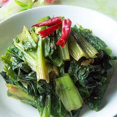 豆瓣醬香油麥菜的做法