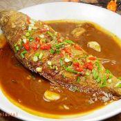 豆瓣酱烧黄鱼的做法
