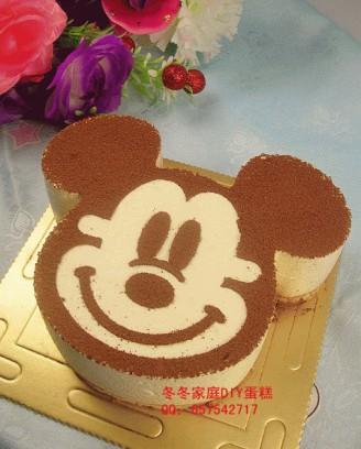 打印米奇动物蛋糕的做法(美食杰)