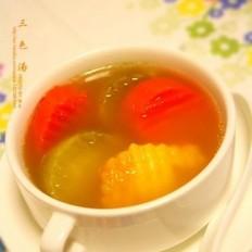 三色清肺汤的做法
