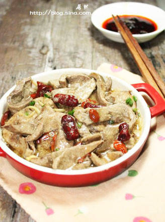 红枣枸杞蒸猪肝的做法