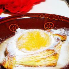 黃桃千層酥的做法