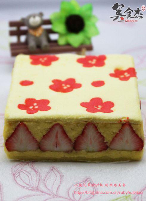 草莓印花蛋糕Bw.jpg