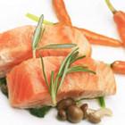 香煎胡萝卜三文鱼