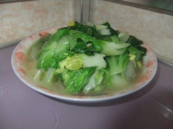 蒜末蒜末的青菜_做法青菜家常的做法【图】蒜2014上海美食节年世博图片