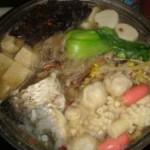 山药菌汤鱼锅的做法