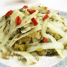 酸菜土豆擦的做法