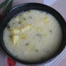 绿豆小米地瓜的做法