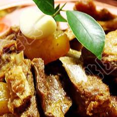 青咖喱炖羊排的做法