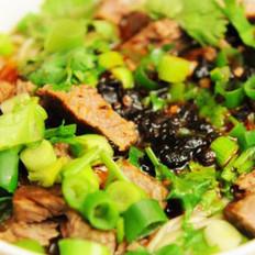 牛肉汤米粉的做法