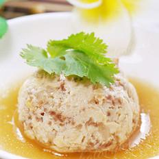 清蒸豆腐圆子的做法