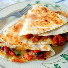 墨西哥鸡肉披萨馅饼的做法